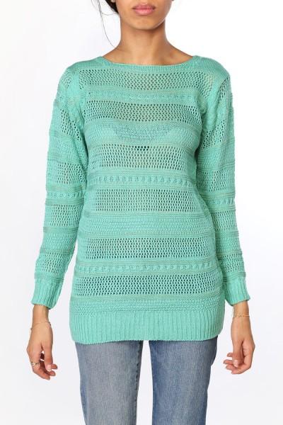 2 > De la couleur ! Du turquoise ! Idéale pour égayer les journées d'hiver.